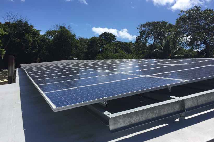 Supplementary solar power