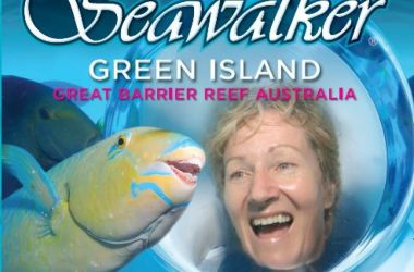 Seawalker Green Island, a unique helmet dive experience - new brochures available