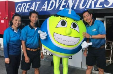 Terry the Tennis Ball bounces in for a Great Adventure!