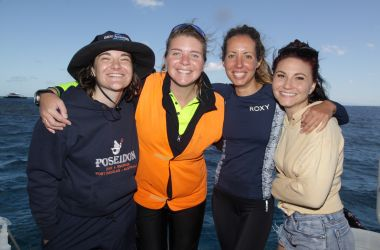 Ladies Day on Silverswift! Celebrating PADI Women's Dive Day
