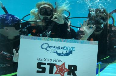 Dave and Inkie take a (Quicksilver) Dive!