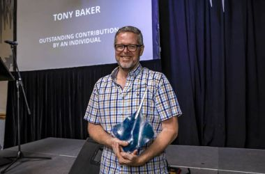 Tony Baker recognised for outstanding contribution to tourism