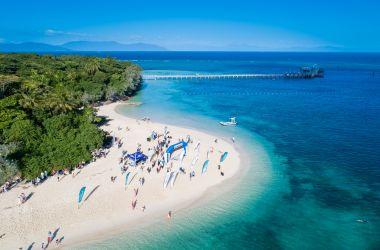 Quicksilver Reef Swim - Green Island, Ironman Cairns