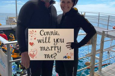 From the Reef with Love - When Andrew proposed to Connie!